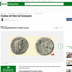 5 Accomplishments of Julius Caesar