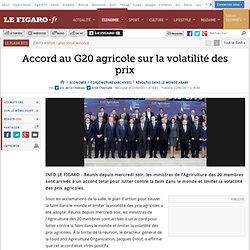 Conjoncture : Accord a minima au G20 agricole