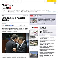 Les trois non-dits de l'accord de Bruxelles | Rue89 Eco