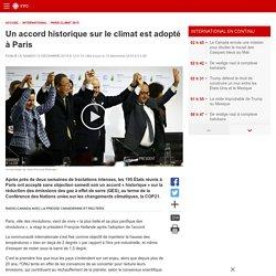 Accord historique sur le climat à Paris (interdépendance)