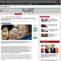 Accord historique entre Japon et Corée sur les «femmes de réconfort»
