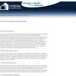 Tout savoir sur le quitus accordé au syndic - Syndic Paris : courtier Syneval