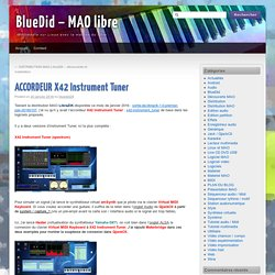 ACCORDEUR X42 Instrument Tuner