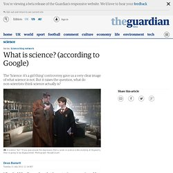 What is science? (according to Google)