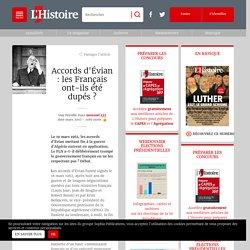 Accords d'Évian : les Français ont-ils été dupés?