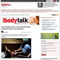Les images d'un vrai accouchement utilisées dans une publicité - Santé