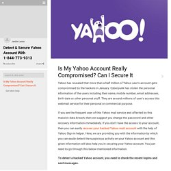 Is My Yahoo Account Really Compromised? Can I Secure It on Guides.co