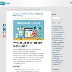 An Inside Look On Account Based Marketing - Technians