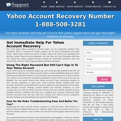 How to set up my Yahoo account