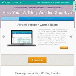 Academic Writing Club