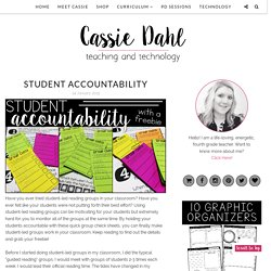Student Accountability - Cassie Dahl: Teaching & Technology