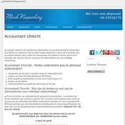 Accountant utrecht