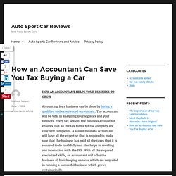 How To Save When Tax Buying A Car