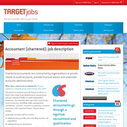 Accountant (chartered): job description