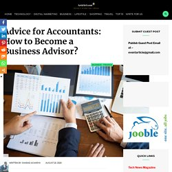 Advice for Accountants: How to Become a Business Advisor? – Article Event
