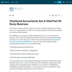 Chartered Accountants Are A Vital Part Of Every Business