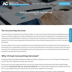 ACCOUNTANTS NEAR ME - Tax Preparation Services