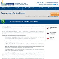 Accountants for Architects by Allenby Accountants