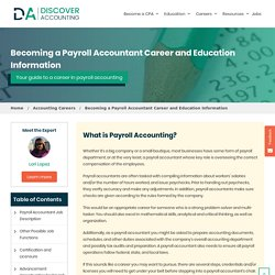 Payroll Accounting - Payroll Accountant Salary, Career & Degree Guide - Discover Accounting