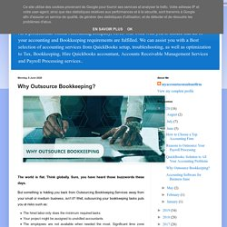 online accounting and bookkeeping services: Why Outsource Bookkeeping?