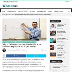 Why Is Online Accounting Needed For Your Business Expansion?