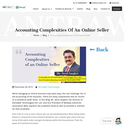Accounting Complexities of an Online Seller