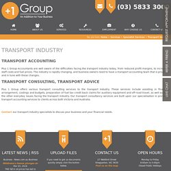 Transport Accounting, Transport Consulting, Transport Advice Victoria, Australia