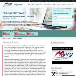 Accounting & Billing Software for Retail / Distribution