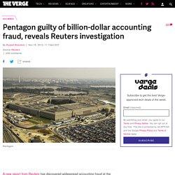 Pentagon guilty of billion-dollar accounting fraud, reveals Reuters investigation
