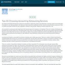 Tips On Choosing Accounting Outsourcing Services: hechtca01