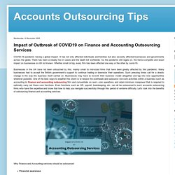 Finance and Accounting Outsourcing Services