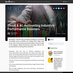 Cloud & AI: Accounting Industry's Performance Boosters