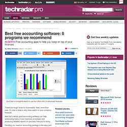 Best free accounting software: 8 programs we recommend