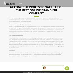 The Top Professional Web Development Service Company