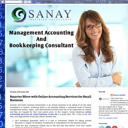 Smarter Move with Online Accounting Services for Small Business