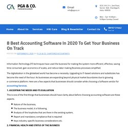8 Best Accounting Software In 2020 To Get Your Business On Track