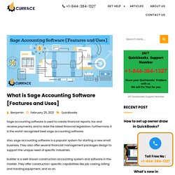 What is Sage Accounting Software [Features and Uses]
