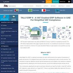 VAT Accounting Software UAE