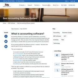 Accounting Software in India - Download Accounting Software