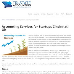 Accounting Services for Startups Cincinnati Oh