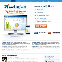 Small Business Accounting | WorkingPoint