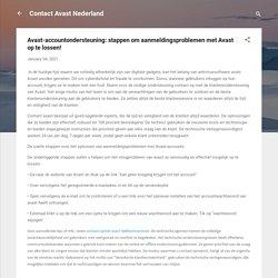 Avast-accountondersteuning: stappen om aanmeldingsproblemen met Avast op te lossen!