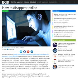 How To Delete Online Accounts: Guide explains how to disappear online