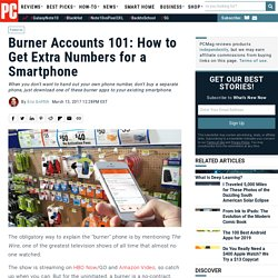 Burner Accounts 101: How to Get Extra Numbers for a Smartphone