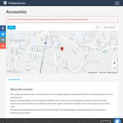 Accountsly, Accounting in Parkbench Community