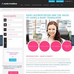 how to become NAATI accredited translator