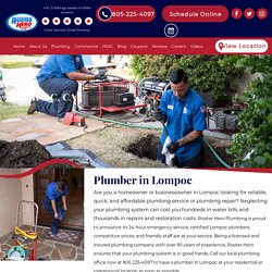 Local BBB Accredited Plumbers in Lompoc, CA