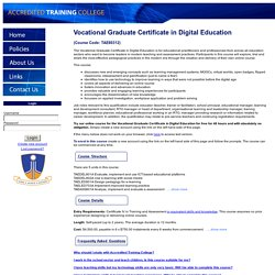 Accredited Training College