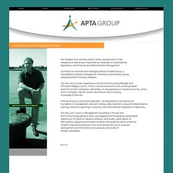 accretio group, kris stappers profile
