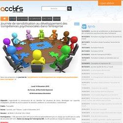 Journée de sensibilisation au développement des compétences psychosociales dans l'entreprise